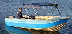 Open Canopy Boat Hire in Forster, NSW
